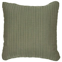 Sage 18-inch Knife-edged Outdoor Pillows with Sunbrella Fabric (Set of 2)