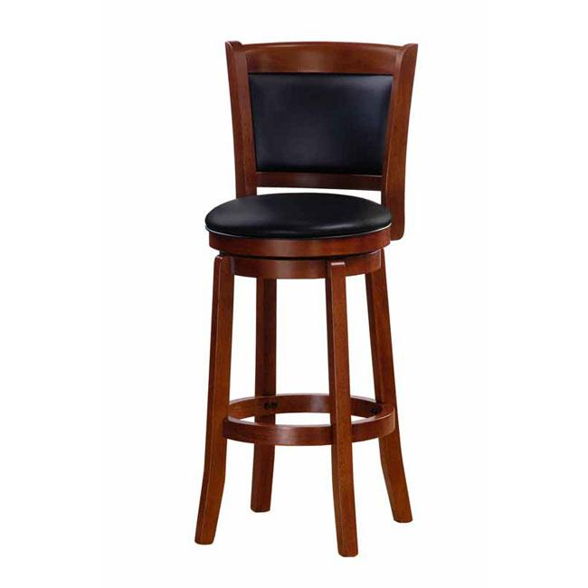 Chandler Oak Finish 30-inch Swivel Barstool