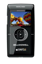 Bell + Howell T200-BK Take2 Flip HD Video Camcorder