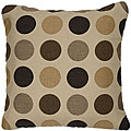 Mojito Coffee Bean 18-inch Knife-edged Outdoor Pillows with Sunbrella Fabric (Set of 2)