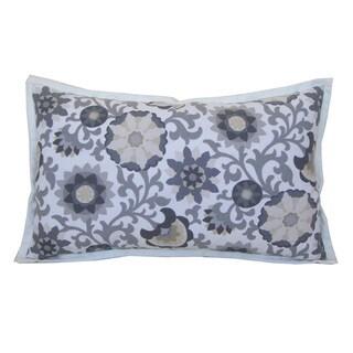 "Handmade Vitreaux Decorative Pillow - 12"" x 20"""