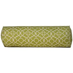 7 x 21-inch Green Moroccan Outdoor Decorative Pillow