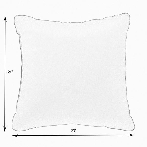 Sunbrella Navy Knife-edged Indoor/Outdoor Pillows, Set of 2