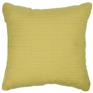 Cornsilk 20-inch Knife-edged Indoor/ Outdoor Pillows with Sunbrella Fabric (Set of 2)