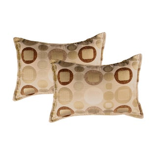 Sherry Kline Metro Taupe Boudoir Pillows (Set of 2)