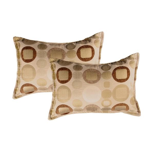 Sherry Kline Metro Taupe Boudoir Pillows (Set of 2)