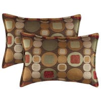 Sherry Kline Metro Spice Boudoir Pillows (Set of 2)