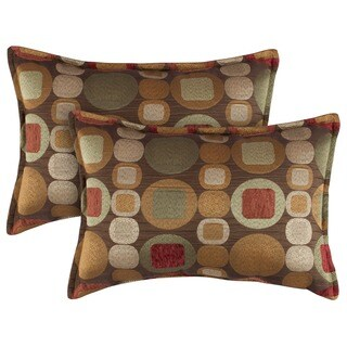 Sherry Kline Metro Spice Boudoir Pillows (Set of 2)