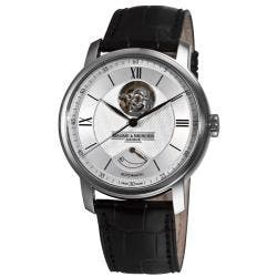 Baume & Mercier Men's 'Classima Executives' Silver Open Dial Watch|https://ak1.ostkcdn.com/images/products/5479561/72/923/Baume-Mercier-Mens-Classima-Executives-Silver-Open-Dial-Watch-P13266799.jpg?impolicy=medium