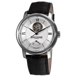 Baume & Mercier Men's 'Classima Executives' Silver Open Dial Watch