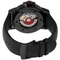 Oris Men's 73576414764LS 'BC3 Advanced Day Date' Black Strap Automatic Watch - Thumbnail 1