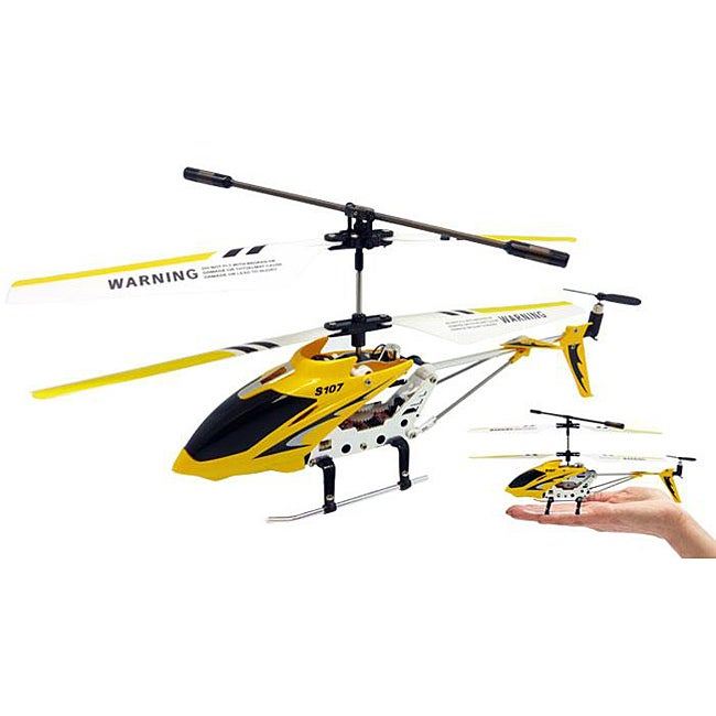Syma 3.5-Channel S107 Yellow Mini RC Helicopter