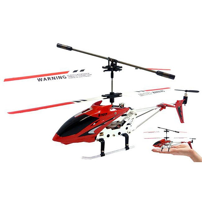 Syma 3.5 Channel S107 Mini RC Helicopter