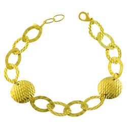 Fremada 14k Yellow Gold Galileo Contempo Bracelet