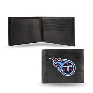 Tennessee Titans Men's Black Leather Bi-fold Wallet