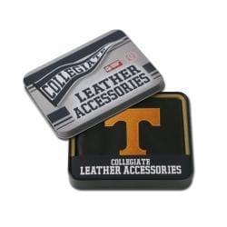 Tennessee Volunteers Men's Black Leather Bi-fold Wallet - Thumbnail 0