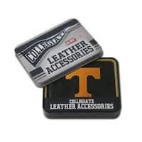Tennessee Volunteers Men's Black Leather Bi-fold Wallet