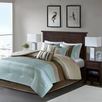 Madison Park Tradewind Blue 7-piece Comforter Set