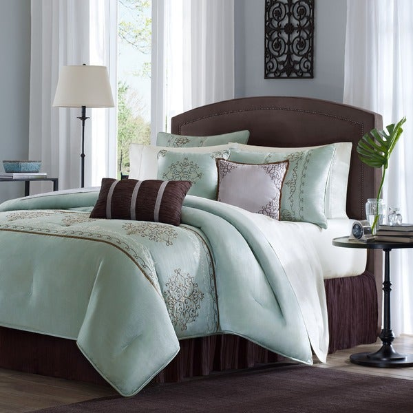 Madison Park Brussel Seaform7-piece Comforter Set