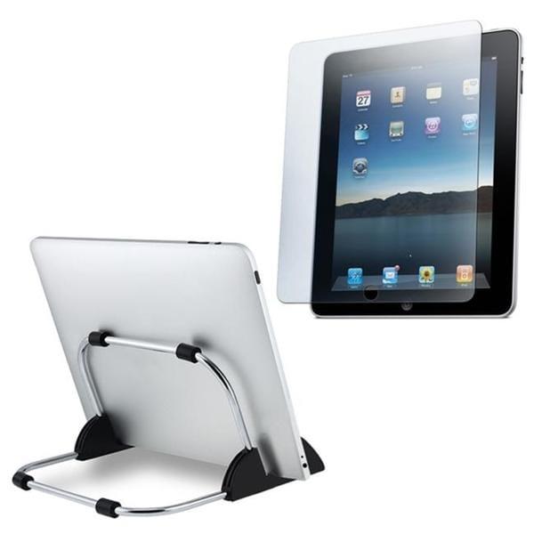 Keydex Metal Stand/ Anti-glare Screen Protector for Apple iPad