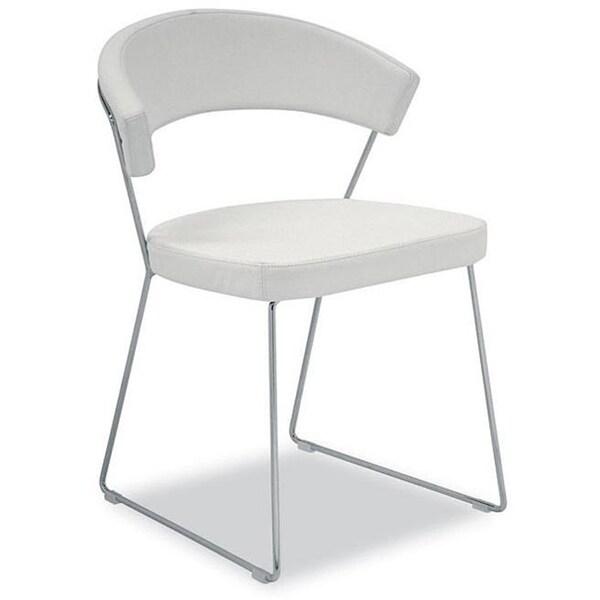 Modloft Delancy Leatherette Dining Chairs (Set of 2)