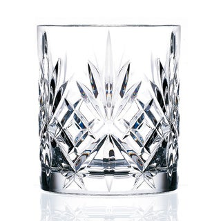 Link to Lorenzo Melodia Crystal Double Old Fashioned Glasses (Set of 6) Similar Items in Glasses & Barware
