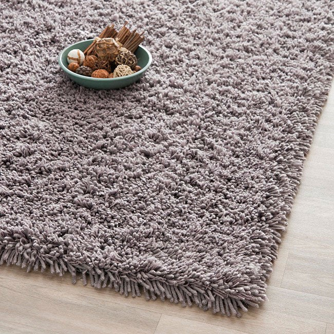 Gray Shag Rug Home Decor