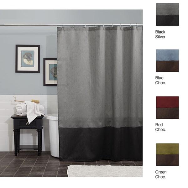 Lush Decor Prima Shower Curtain