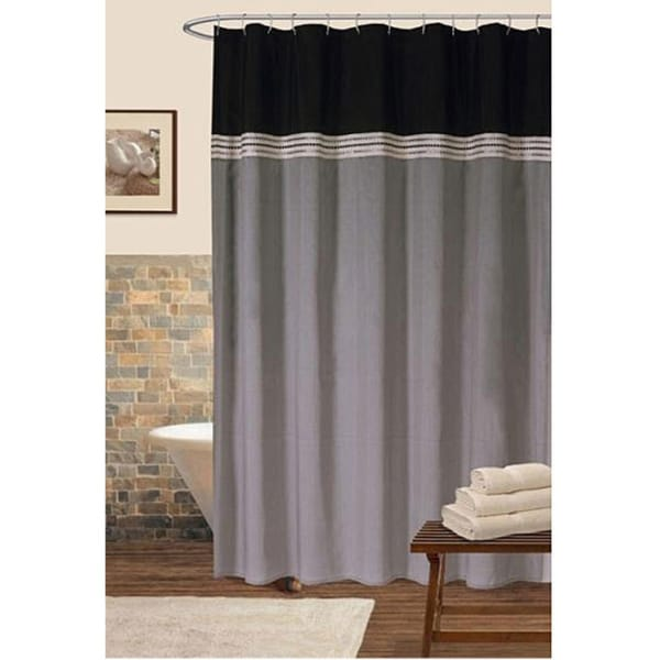 Lush Decor 72x72-inch Terra Shower Curtain