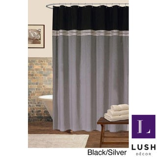 Lush Decor 72x72-inch Terra Shower Curtain