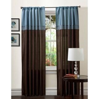 Lush Decor 84-inch Geometrica Curtain Panel Pair - 54 x 84