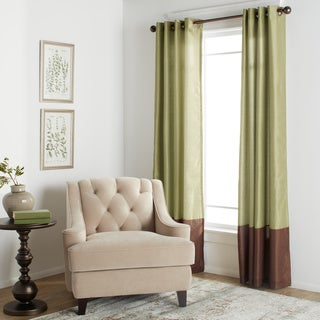 Lush Decor Prima Faux Silk 84-inch Curtain Panel Pair