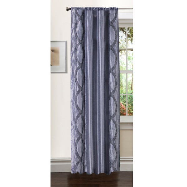 Lush Decor 84-inch Talon Curtain Panel