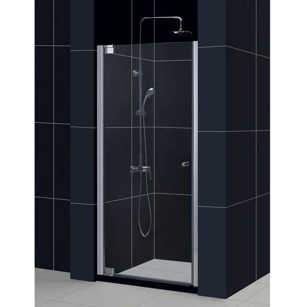 DreamLine Elegance 30.5-32.5x72-inch Frameless Pivot Shower Door
