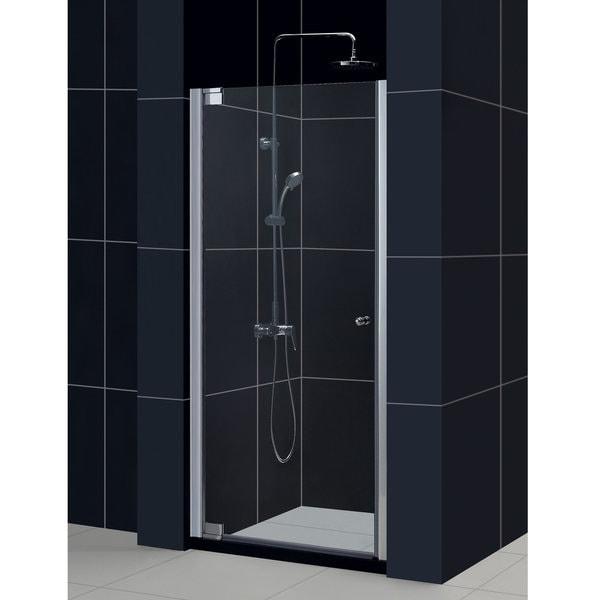 DreamLine Elegance 35.75-37.75x72-inch Frameless Pivot Shower Door