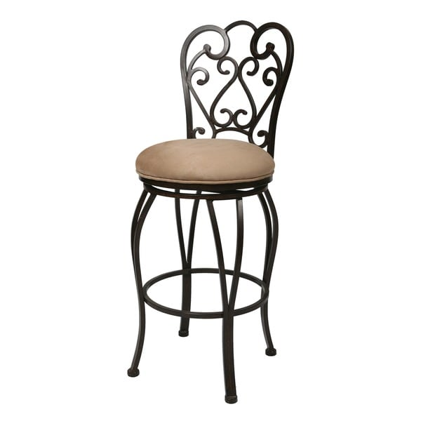 Shop Magnolia 30 Inch Swivel Bar Stool Free Shipping