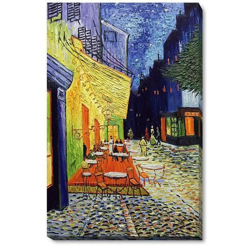Van Gogh 'Caffe Terrace' Hand-painted Canvas Art