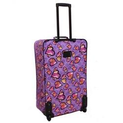 Rockland Designer Love Expandable 4-piece Luggage Set - Thumbnail 1