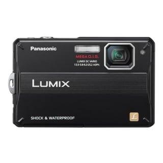 Panasonic Lumix DMC-TS10 14.1 Megapixel Compact Camera - Black