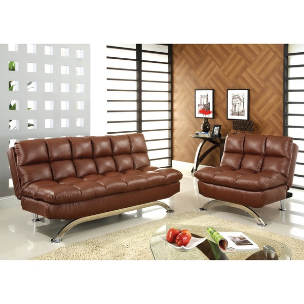 Shop Furniture Of America Kyle Mid Century Modern 2-Piece