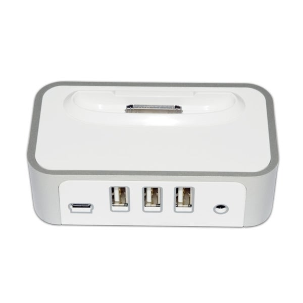 CyberPower CP-H320AP iPod/iPhone Power Charging Dock & 3-Port USB Hub