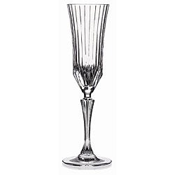 Adagio Collection Crystal Champagne Flutes (Set of 6) - Thumbnail 0