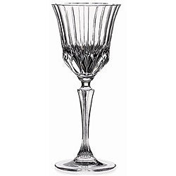 Lorenzo Adagio Collection Clear Crystal Wine Glasses (Set of 6)