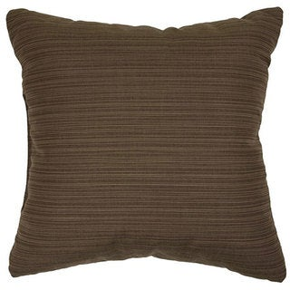 Walnut 20-inch Indoor/ Outdoor Pillows of Sunbrella Fabric (Set of 2)