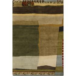 Mandara New Zealand Wool Rug (6' x 9') - Thumbnail 2