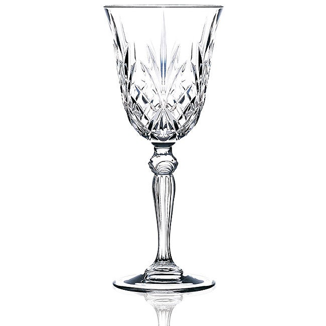 Melodia Collection Crystal Water Glasses (Set of 6)