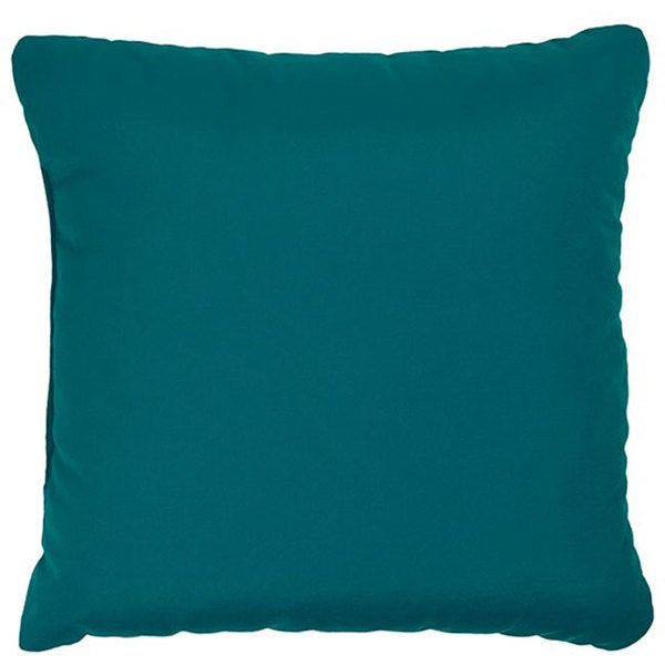 Shop Teal 22 Inch Knife Edged Indoor Outdoor Pillows With Sunbrella