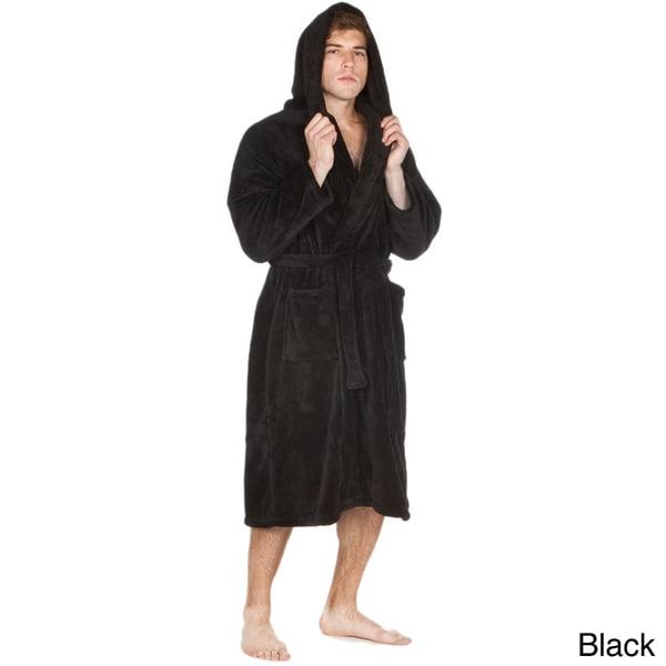 Fleece Hooded Bathrobe