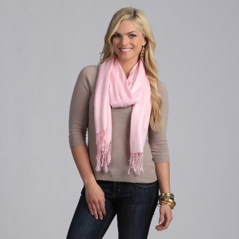 Peach Couture Hand-knotted Baby Pink Wrap