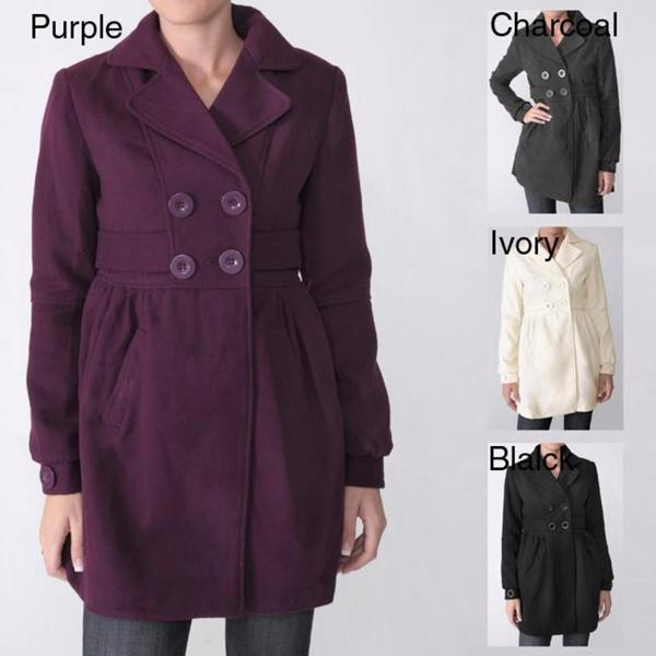 Ci Sono by Adi Junior's Wool Blend Coat